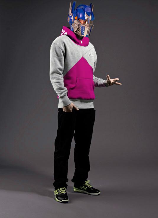 drmtm pink hooded optimus prime