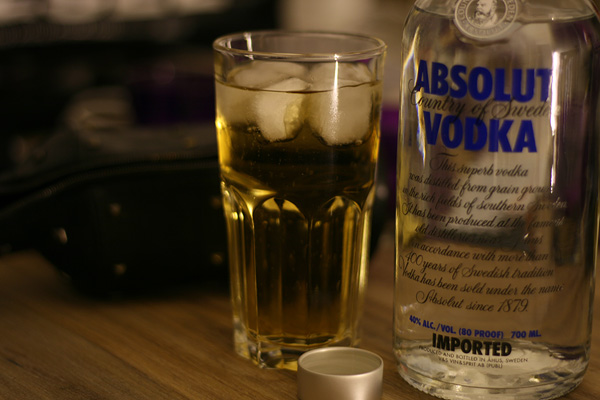absolut vodka reed bull