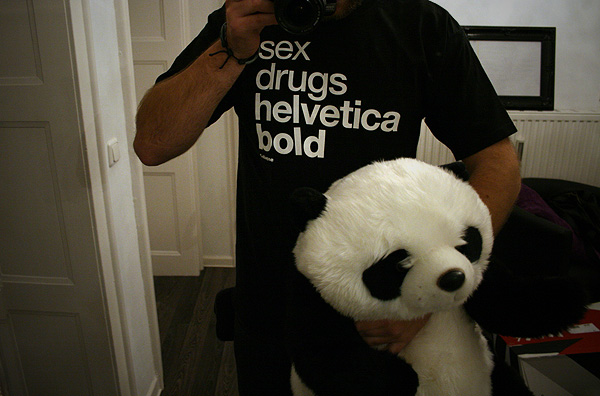 sex drugs helvetica shirt