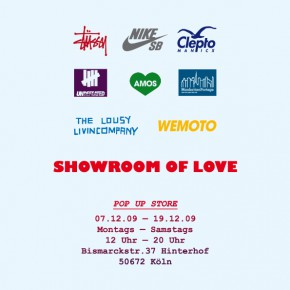 Showroom of Love - Pop Up Store in Köln...