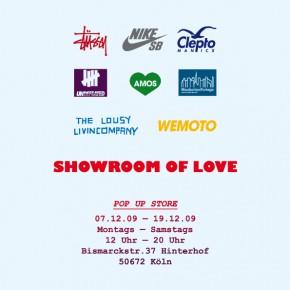 Showroom of Love - Pop Up Store in Köln...