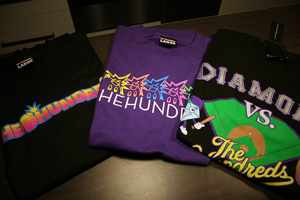 the hundreds x diamond shirt