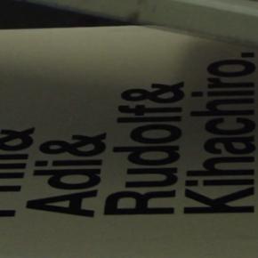Kicks & Cake T-Shirt - Phil & Adi & Rudolf & Kihachiro...