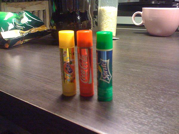 lip smacker cola fanta sprite