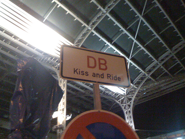 DB kiss and Ride