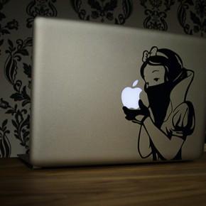 Schneewittchen auf meinem MacBook AIR...