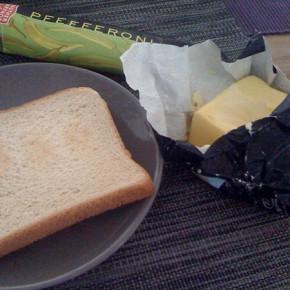 Bread & Butter war scharf...
