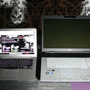 Filme gucken, Spielen und Arbeiten mit dem Fujitsu AMILO Pi 3660