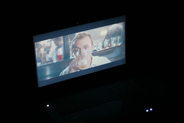 Movie auf dem Laptop