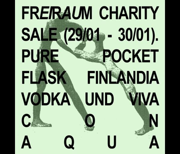 freiraum frankfurt charity sale