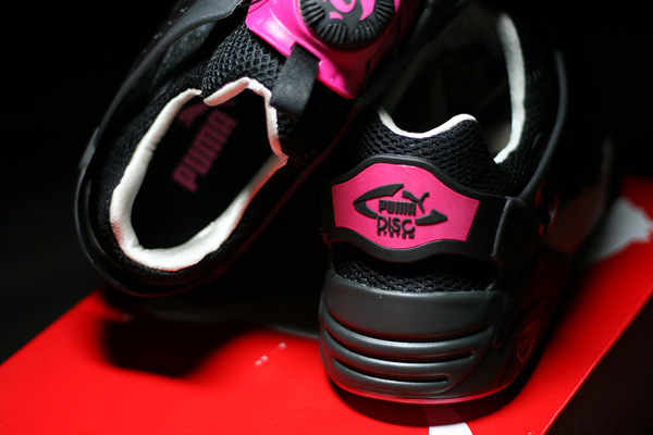 disc blaze black pink