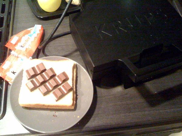 kinderriegel Sandwich