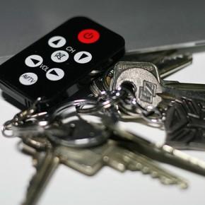 Universal Fernbedienung als Schlüsselanhänger...