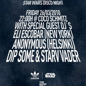 star wars disco night