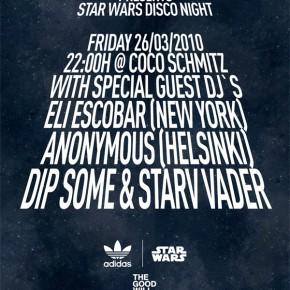 Star Wars Disco Night im Coco Schmitz - adidas x star wars...