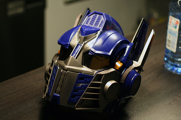 optimus prime helm