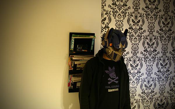 transformers potimus prime helmet