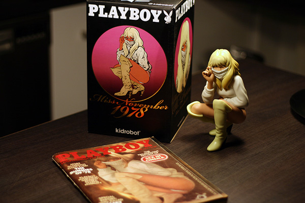 playboy kidrobot figure