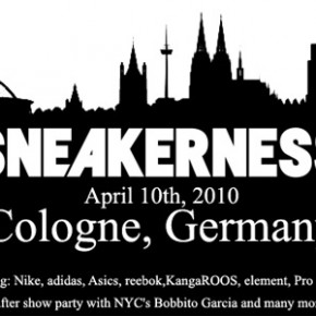 SNEAKERNESS Cologne...
