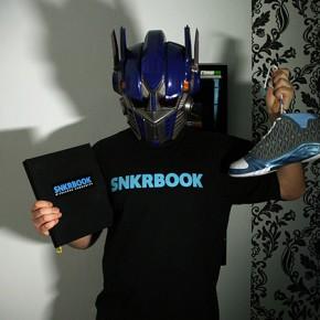 You'll find me on SNKRBOOK... + Gewinnspiel