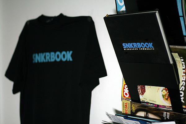 snkrbook shirt