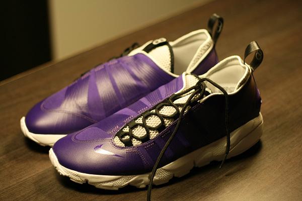 nike purple footscape