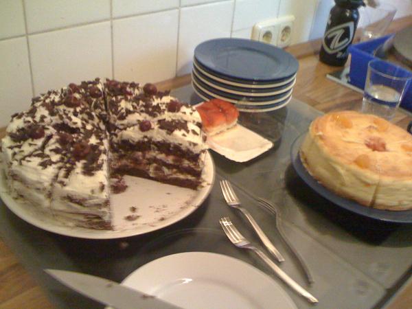 Torte und Kuchen