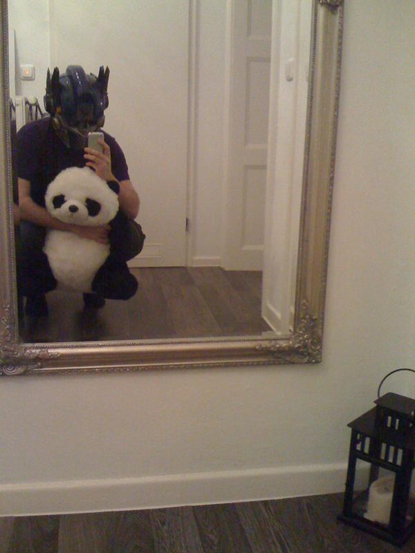 optimus prime panda