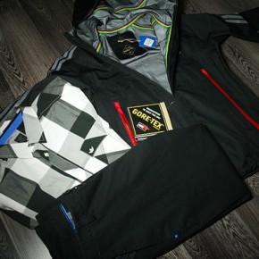 Adidas OT GORE-TEX HD Jacket, P LD Shirt CHK, P D Pant Reg...