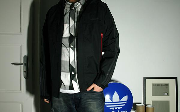 adidas jacket wear