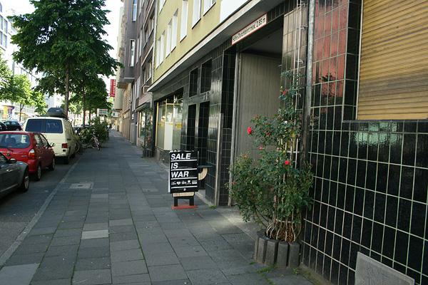 sale is war bismarck str.