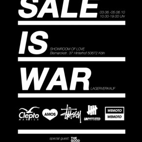 Sale is War in Köln...