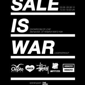 Sale is War in Köln...