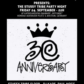The Stussy Tribe Party Night in Bochum...