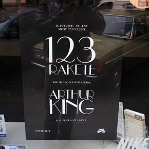123 Rakete mit Arthur King - 15.10 im Studio 672...