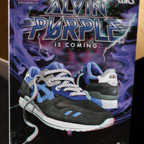 asics alvin purple