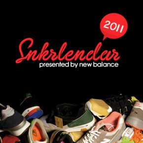 SNKRlendar 2011 - Der New Balance Sneakerkalender...