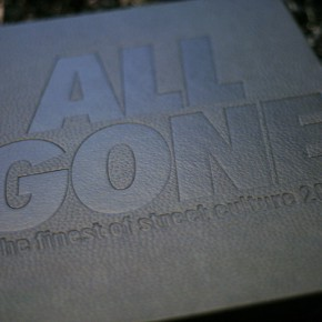 All Gone Book 2010 - black nubuck
