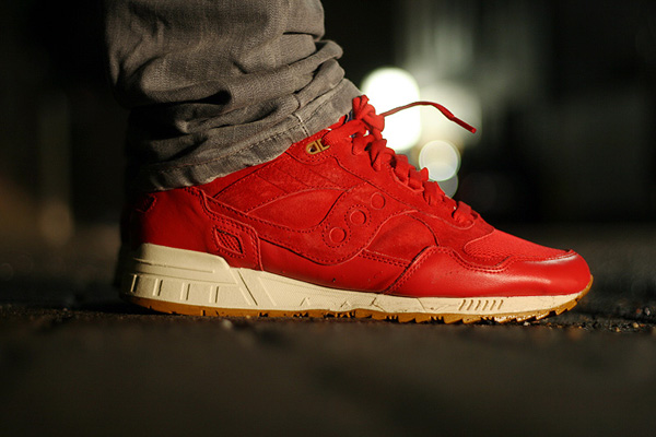 saucony x bodega shadow 5000 red