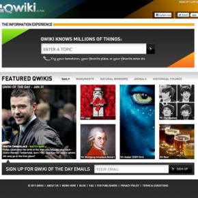 Qwiki - Ich liebe es Wissen zu konsumieren...