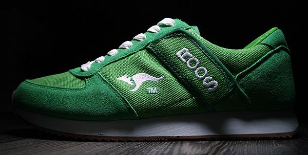 kangaroos combat canvas eco green