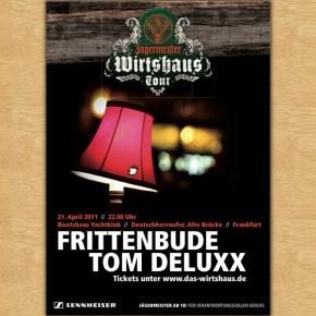 Frittenbude und Tom Deluxx @Jägermeister Wirtshaus Tour in Frankfurt...