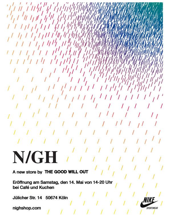 Eröffnung von NIGH in Köln…   sneakerb0b