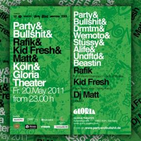 Party & Bullshit Tour 2011 in Köln... + Verlosung