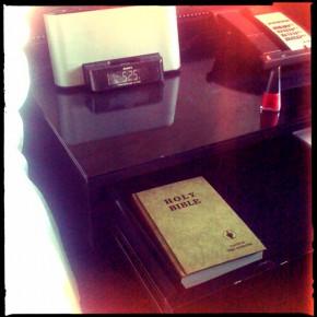 "daily nonsense – holy ""motel"" bible edition"