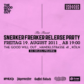 Sneaker Freaker Release Party #3 in Köln