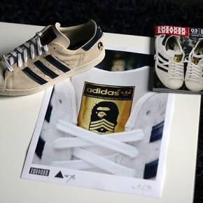"Adidas x Bape ""B-SIDES"" Superstar 80s"