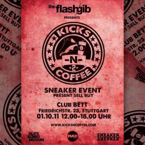 KICKS N COFFEE #2 im Club BETT in Stuttgart