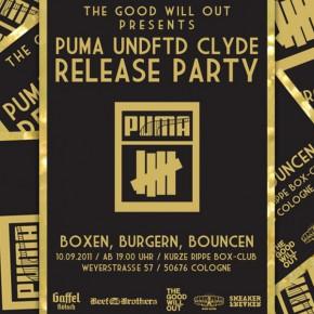 PUMA x UNDFTD Release Party - Boxen, Burgern, Bouncen