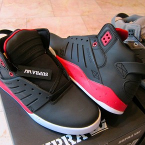 supra skytop 3 red black